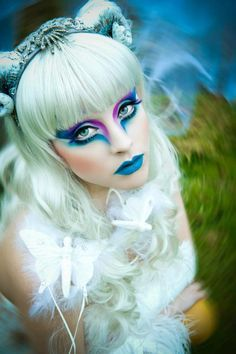 fantasy elf makeup - Google Search | Halloween | Pinterest | Elf ...
