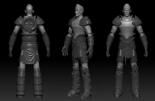 SteP oFf iNt0 tHe DeEp http://hayesart.blogspot.com/ #character #sculpt