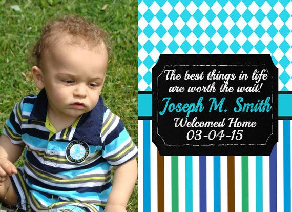 Adoption Announcement by AnnouncedCreations on Etsy
