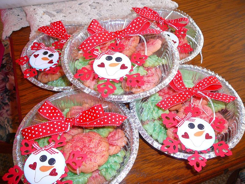 My idea for packaging my cookie swap cookies last