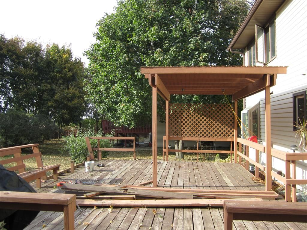 Covering For Decks How Can I Extend A Deck Post On An Existing Deck Pergola Patio Pergola Shade