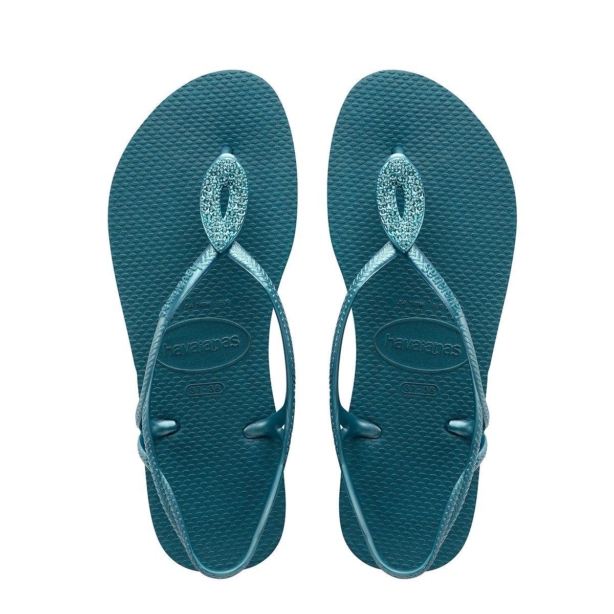 06705a62b HAVAIANAS LUNA SPECIAL SANDAL PETROLEUM.  havaianas  shoes  all ...
