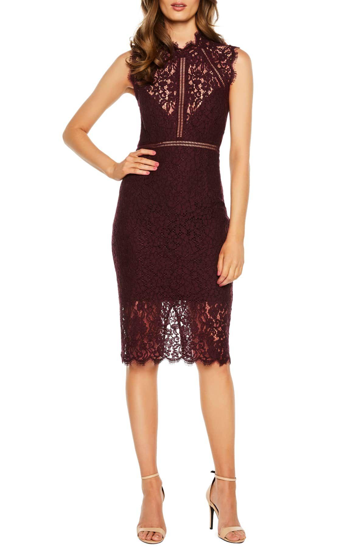Bardot Lace Sheath Cocktail Dress Nordstrom Cocktail Dress Lace Lace Sheath Dress Dresses [ 1794 x 1170 Pixel ]