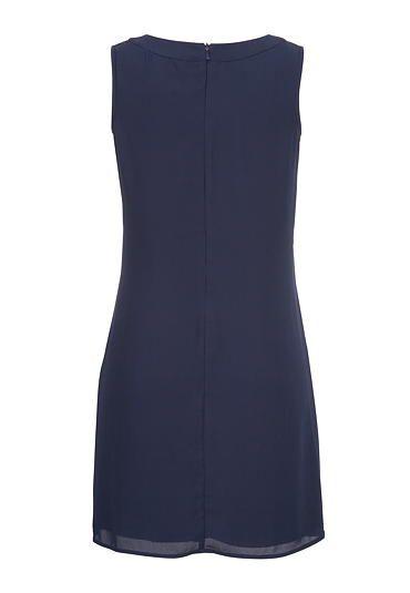 chiffon shift dress with lace - maurices.com   Wardrobe   Pinterest