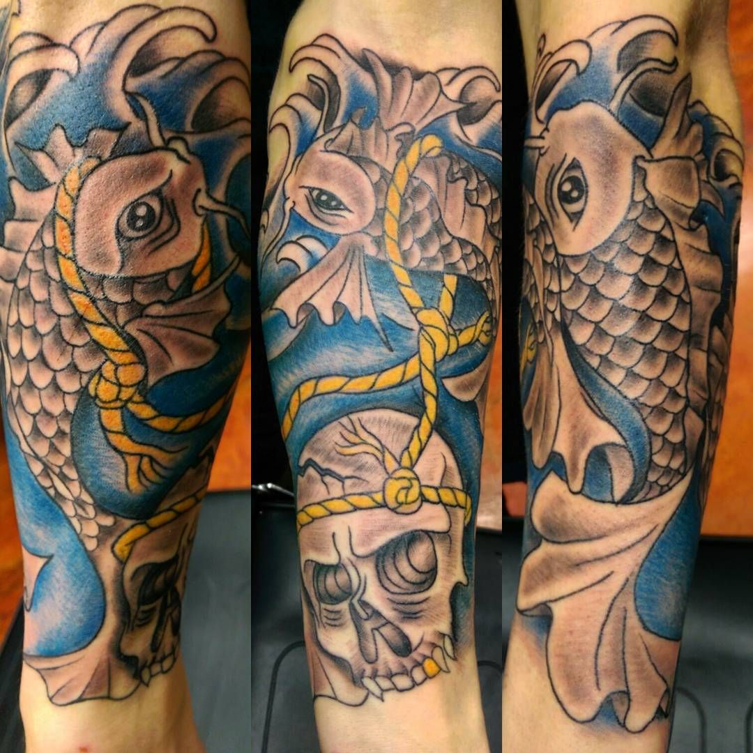 35 Traditional Japanese Koi fish Tattoo Meaning and