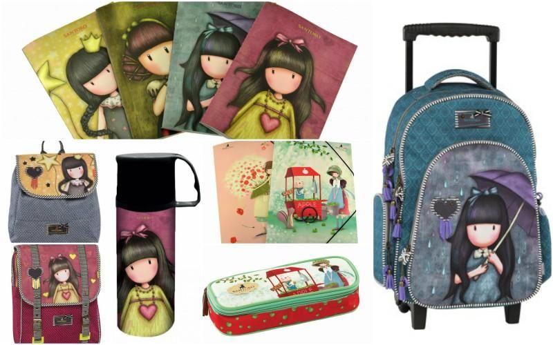 eee5ba3e421 Νέα σχέδια σχολικών τσαντών SANTORO για κορίτσια στο Βιβλιοπωλείο  ΗΛΙΟΤΡΟΠΙΟ (φωτογραφίες)