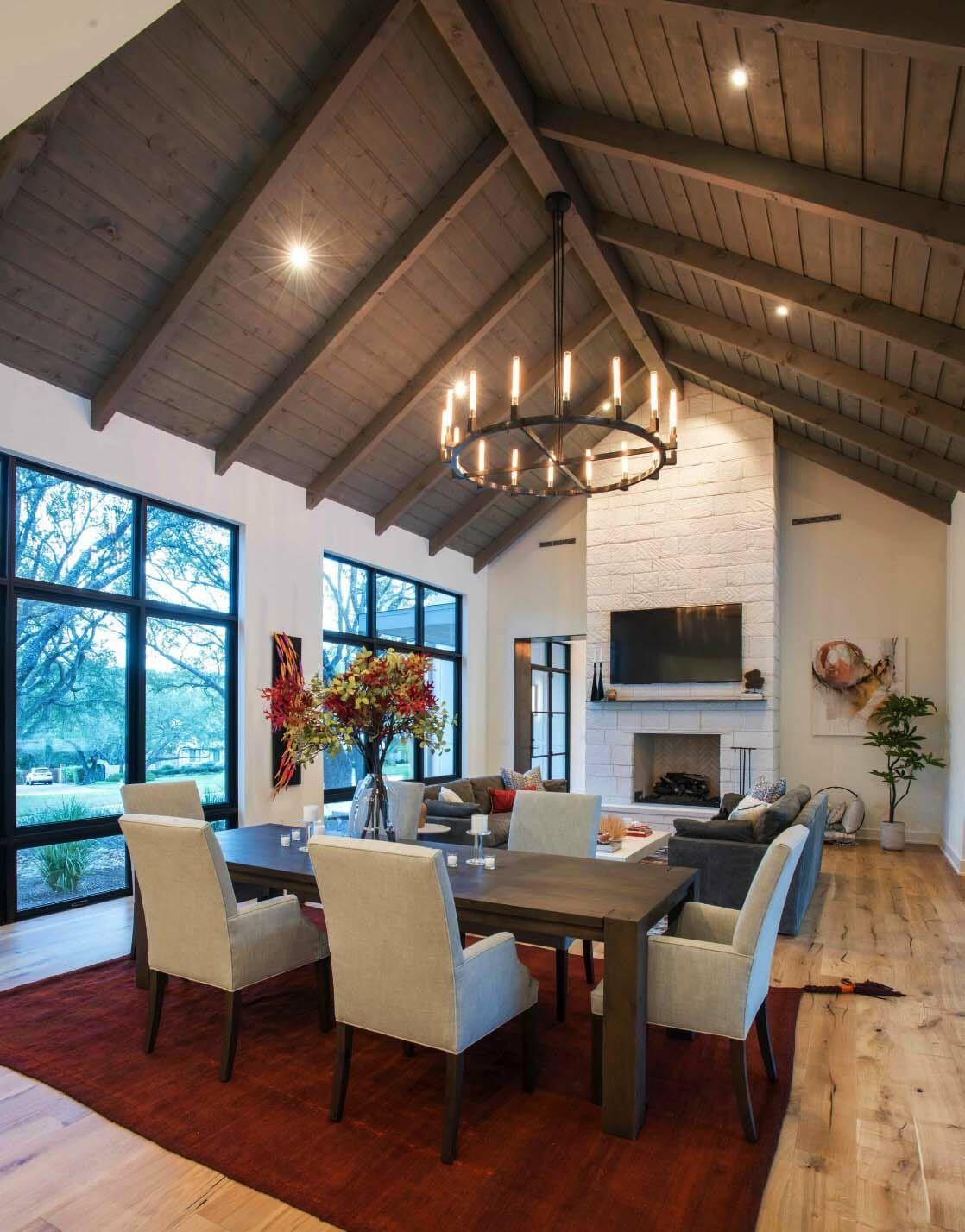 Modern farmhouse style in Texas showcases fantastic design inspiration