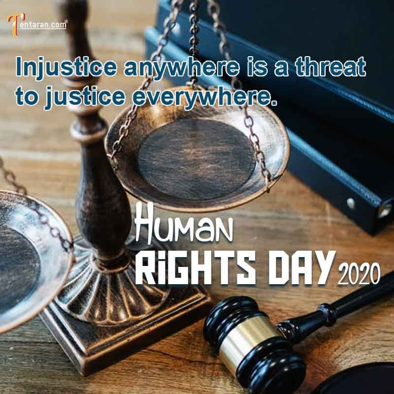 Human Rights Day Quotes Poster In English Human Rights Day 2020 Theme Human Rights Day Quote Posters Human Rights