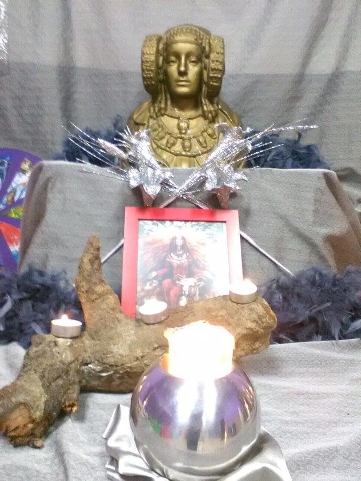 Altar de Yule 2016