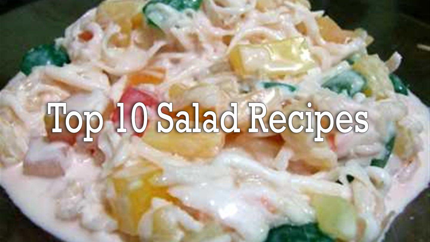 Top 10 salad recipes panlasang pinoy recipe pinoy and salad dishes forumfinder Image collections