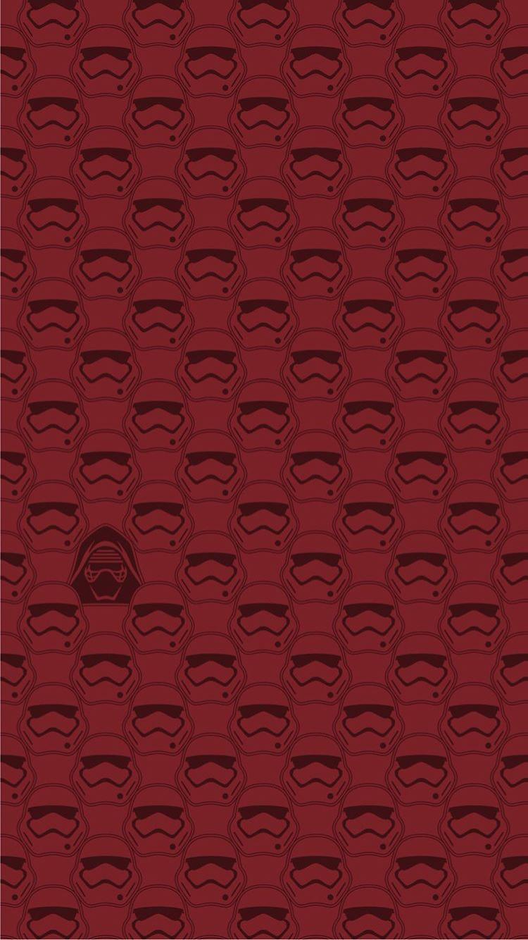 Star Wars The Last Jedi Iphone Wallpaper Kylo Ren Storm Troopers Star Wars Wallpaper Star Wars Art Star Wars