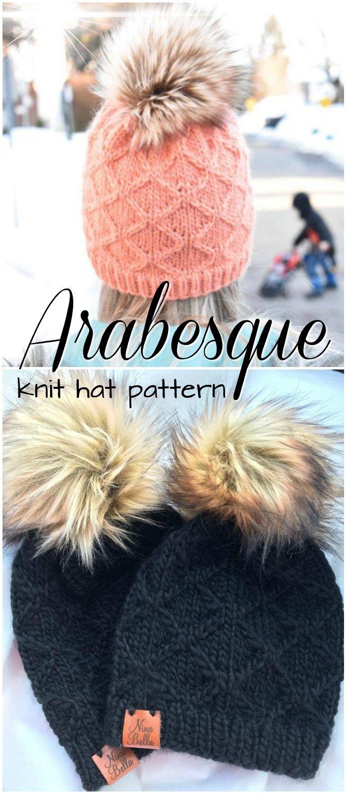 Gorgeous Fall Hats to Make #knitting