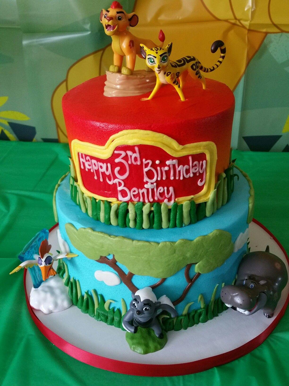 Lion Guard Cake Bentleys Birthday Parties Pinterest Birthdays