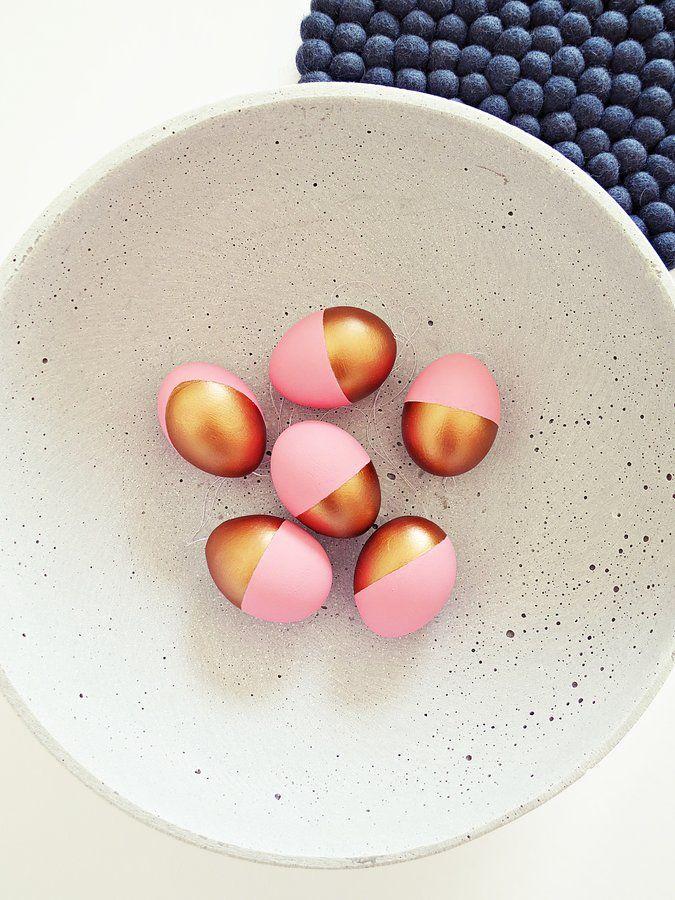Ostereier | Schönes wochenende, Kupfer und Pastell