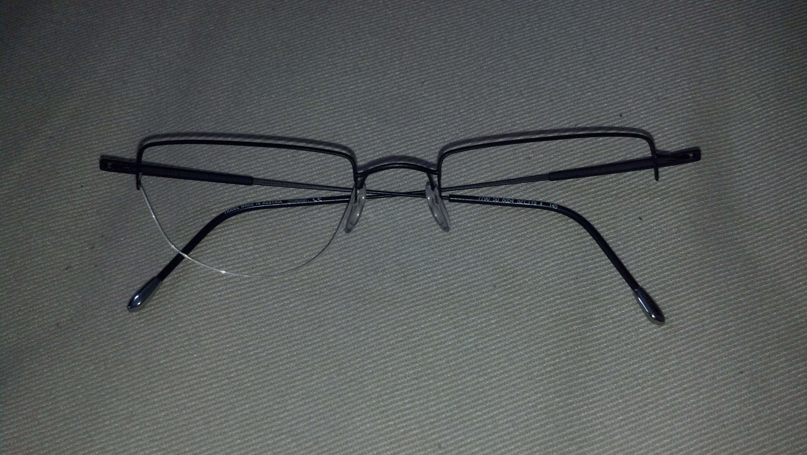 how to fix titanium glasses