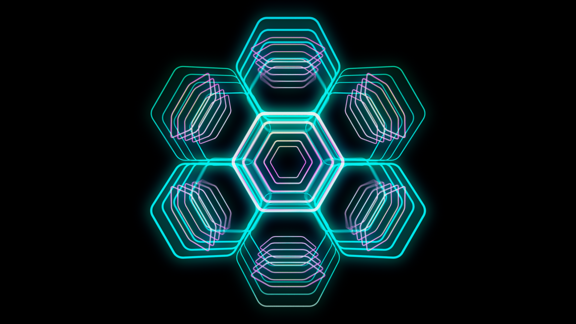 Shapeshifters is a set of 50 VJ Loops - 3D shapes and forms with alpha channel