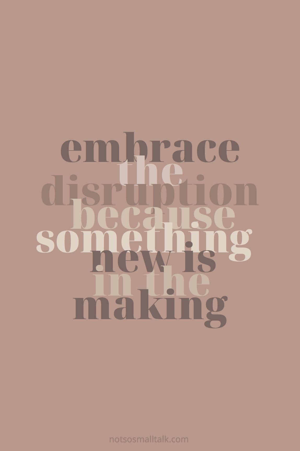 Embrace the Shift