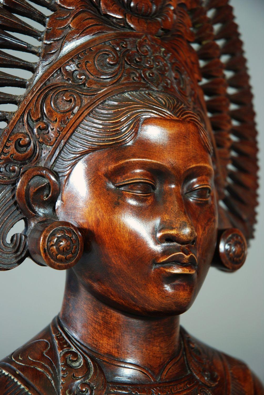 Vintage balinese woodcarving google zoeken