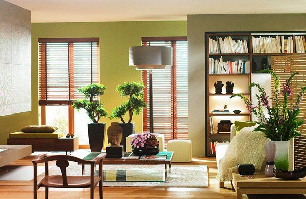 Perfect Gutes Feng Shui Wohnzimmer   Holzmöbel Design