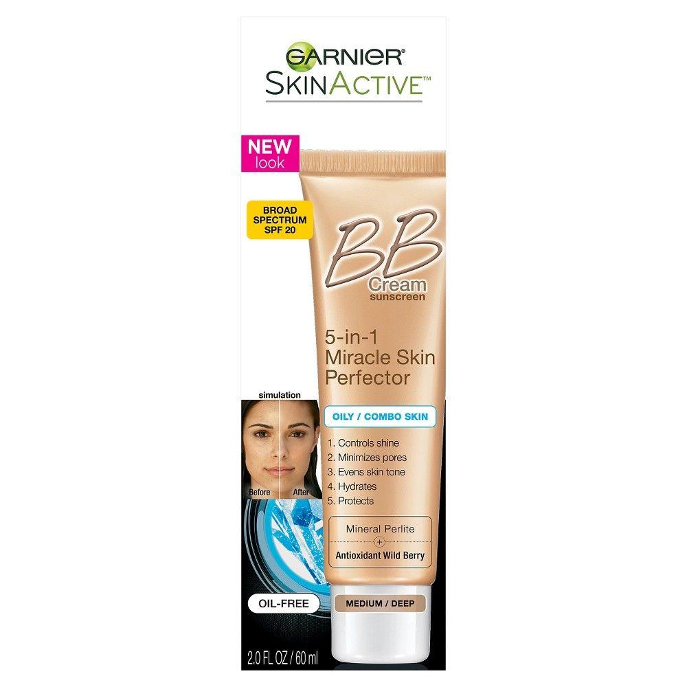 Garnier Skinactive Bb Cream 5 In 1 Miracle Skin Perfector Oily