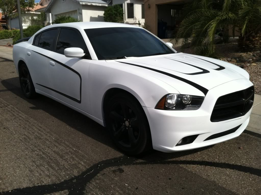 this is what i want to do to my charger next summer this is the storm trooper done right dogde charger white and black - Dodge Charger 2013 White Black Rims