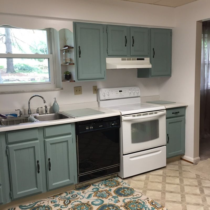 Kitchen Makeover On A Budget Using Annie Sloan Chalk Paint