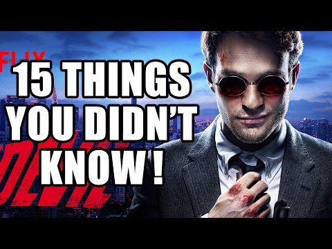 15 Things You Didn't Know About Marvel's Daredevil - Netflix - YouTube