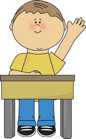 raise hand clip art raising hand clip art image boy sitting at a rh pinterest com