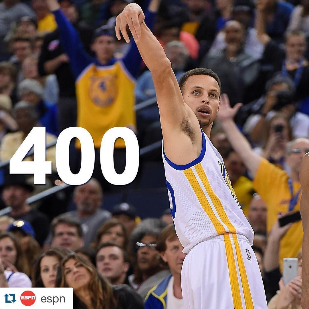 Nba Stephen Curry: Stephen Curry Hits 400!