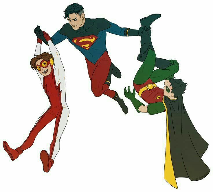 Impulse, Superboy, & Robin-DC Comics