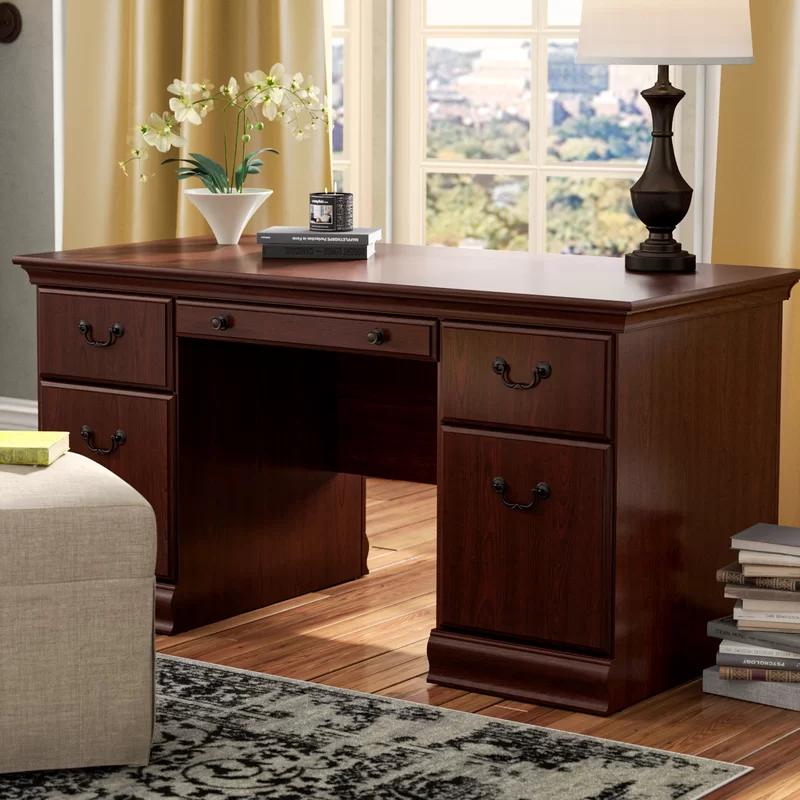 Sansburyexecutive Desk Executive Desk Sketchup Woodworking Plans Furniture