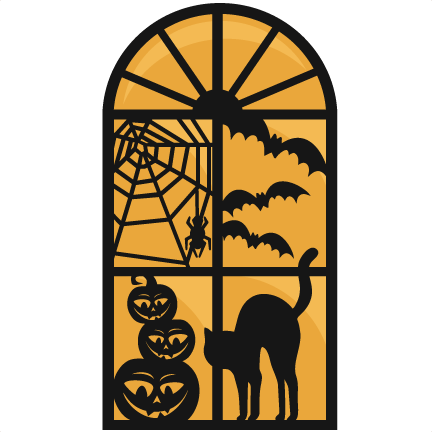 halloween window svg scrapbook cut file cute clipart files for silhouette cricut pazzles free svgs free