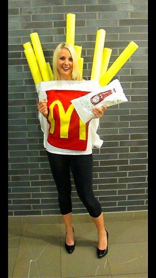 McD\u0027s Fries Halloween Pinterest Fries, Costumes and Halloween - cheap funny halloween costume ideas