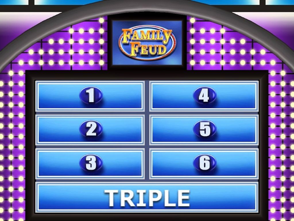 The wonderful 005 Family Feud Template Ppt Ideas Beautiful