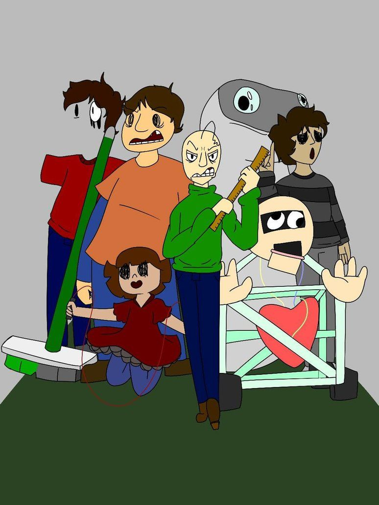 The Whole Gang By Lulzforvers Wholeness