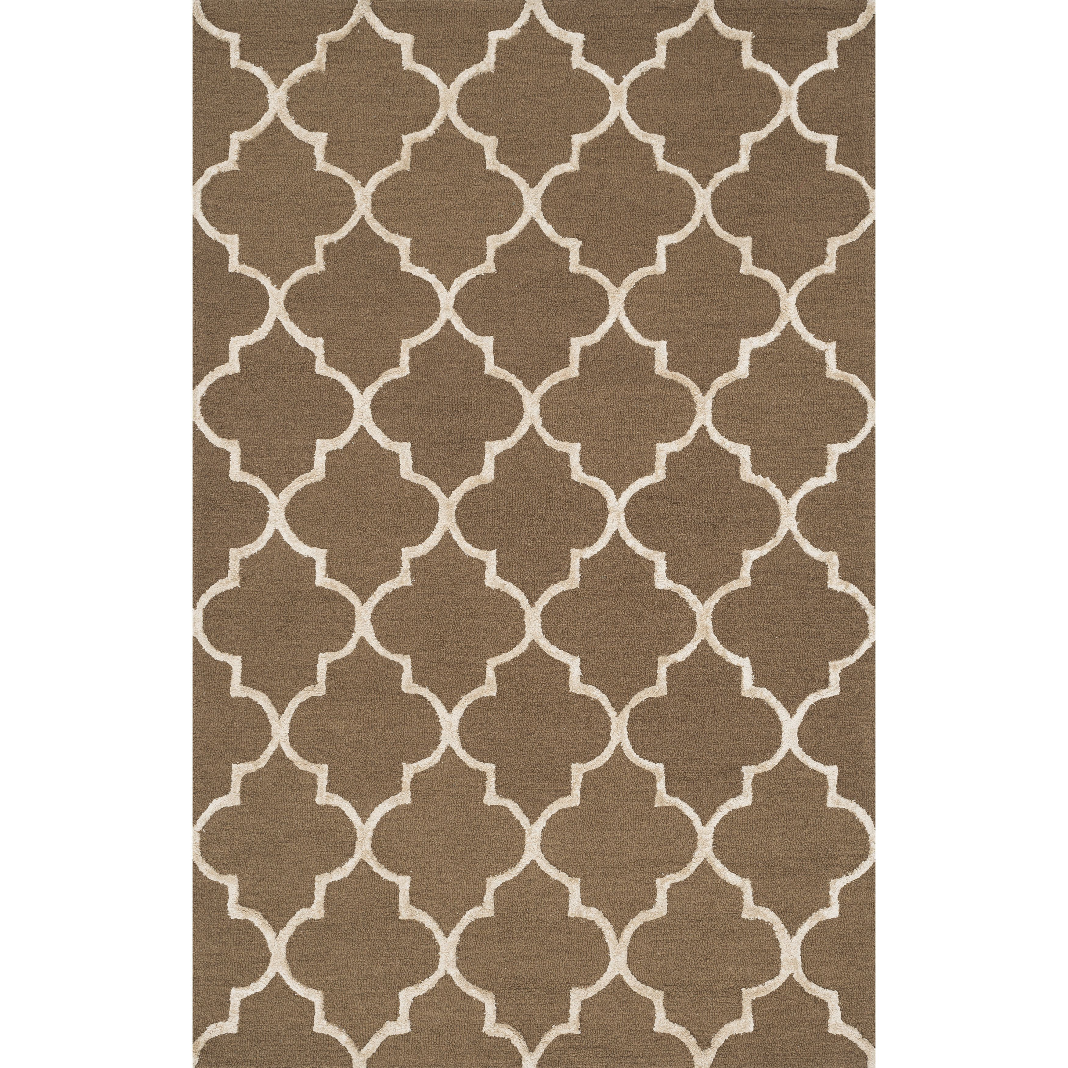 Hand Hooked Carolyn Moroccan Trellis Rug 3 6 X 5 Ping Great Deals On Alexander Home 3x5 4x6 Rugs