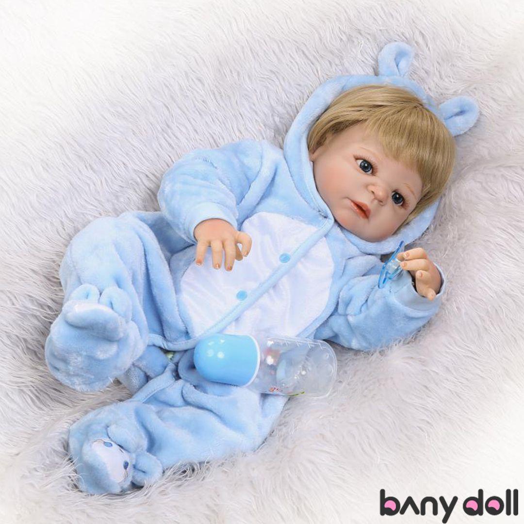 Lovely Reborn Girls Baby Newborn Dolls 22 inch Realistic Reborn Baby Girls Gifts