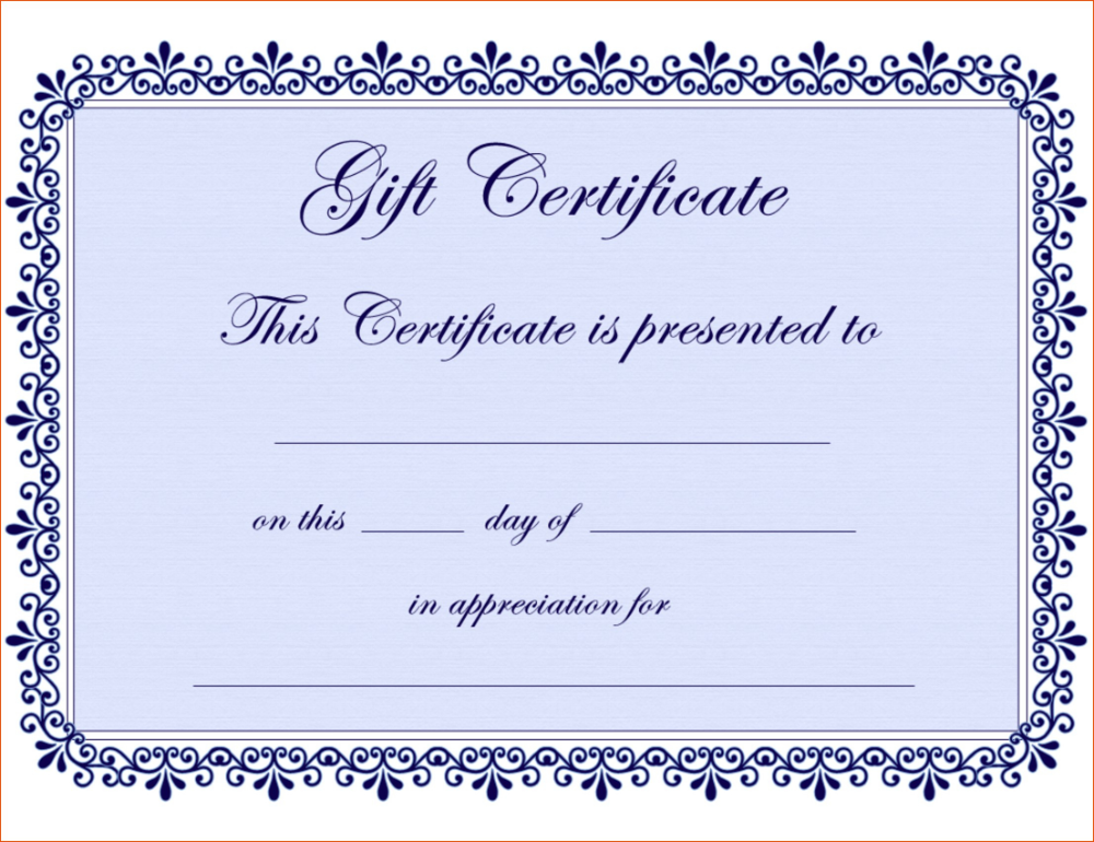 Free Editable Certificates Templates Guarantee Certificate Format In W Gift Certificate Template Word Blank Certificate Template Free Gift Certificate Template