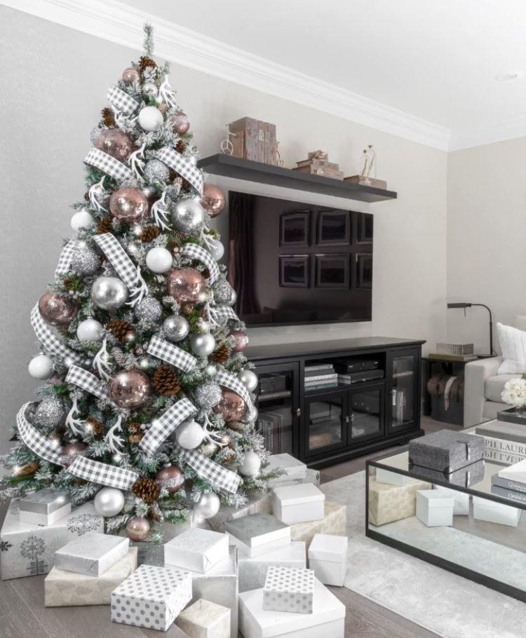 White gold Christmas