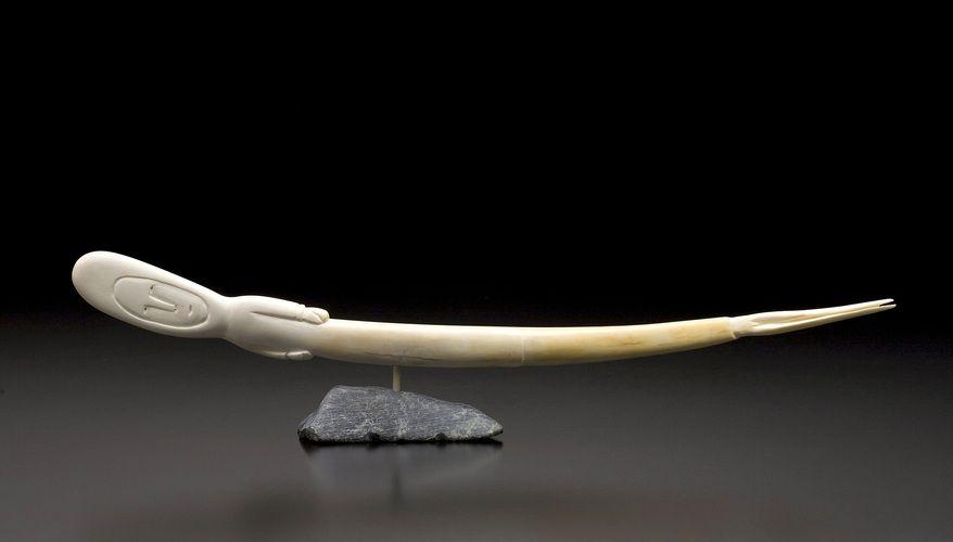 Sedna by Jamesee Natsiapik, Inuit artist (N70302)