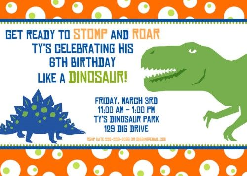 Free Printable Dinosaur Birthday Invitation Dinosaur Birthday Invitations Dinosaur Invitations Dinosaur Birthday Party Invitations