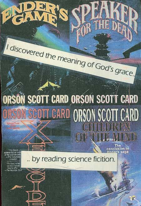 """In these four books, there's so much more than you'd imagine from """"genre fiction"""".    Secret from PostSecret.com"""