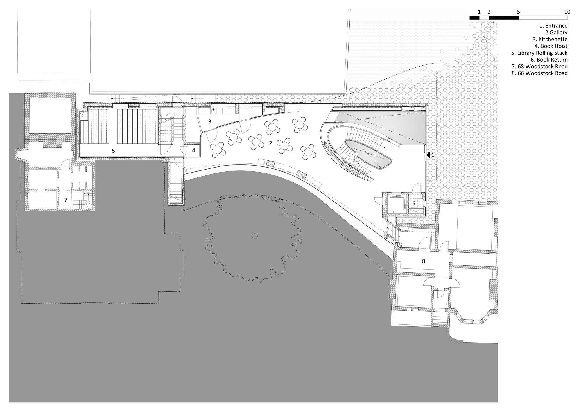 Gallery - The Investcorp Building / Zaha Hadid Architects - 30