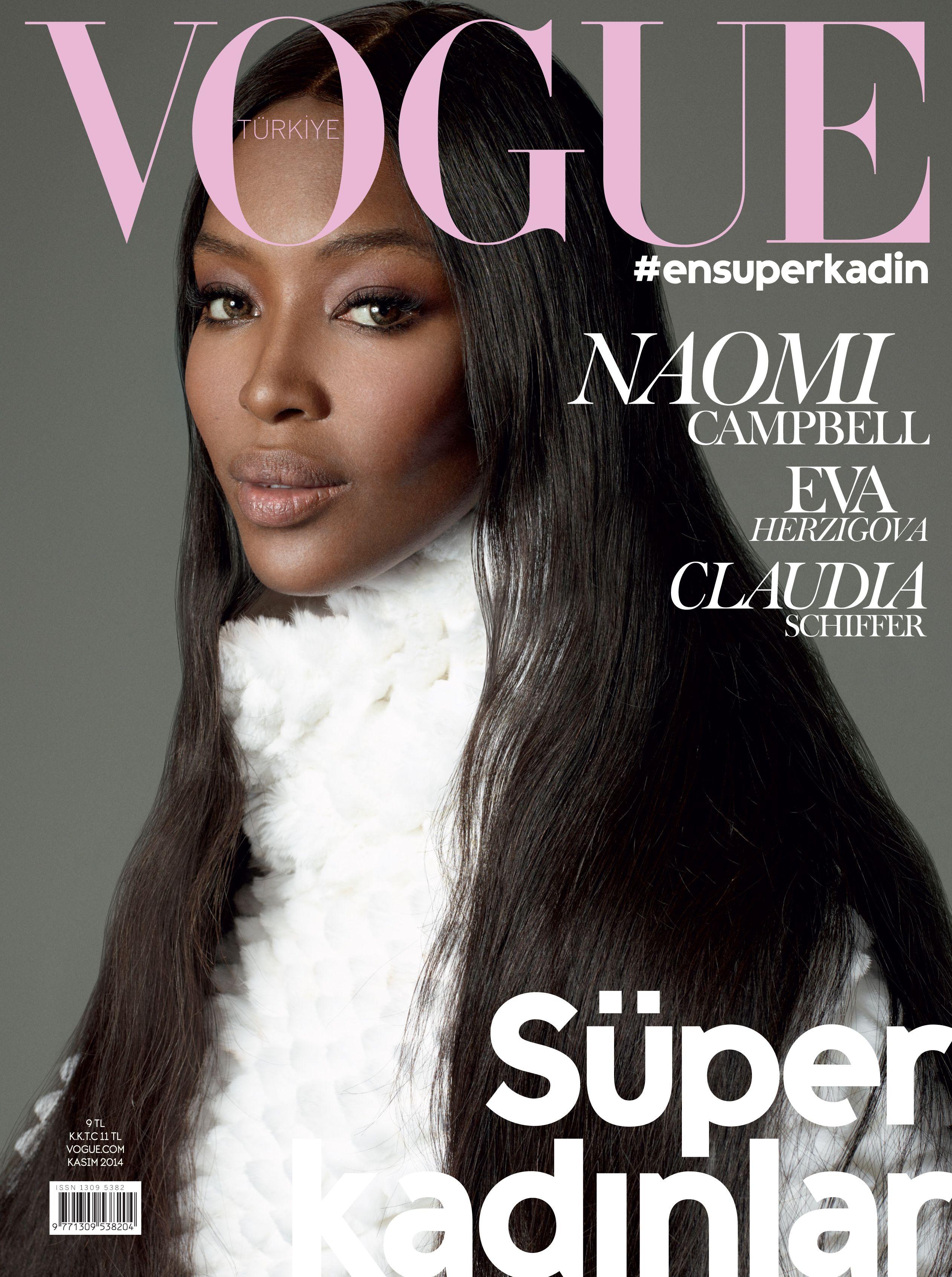Naomi Campbell Throughout the Years in Vogue   Vogue Turkiye Best ... b9a60984de