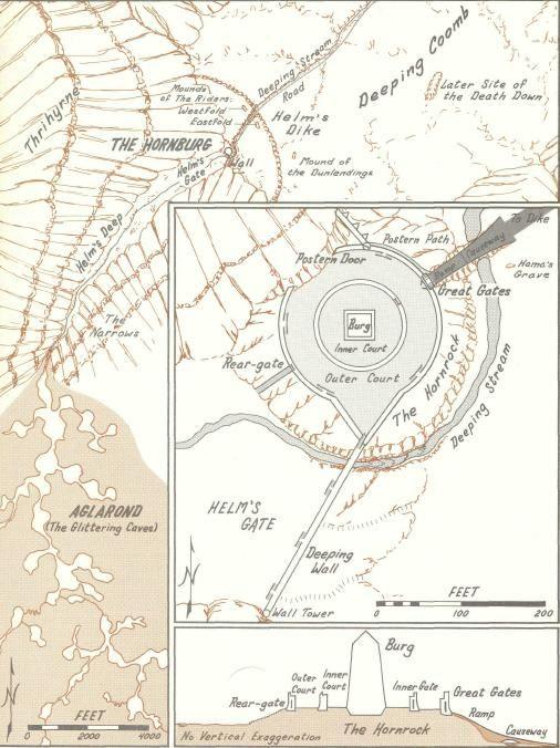 Helms Deep, LOTR | Middle earth map, Tolkien map, Lotr on