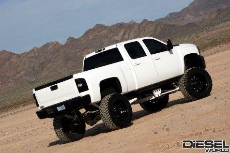 My Future Husband Will Drive One Of These Love Big White Trucks