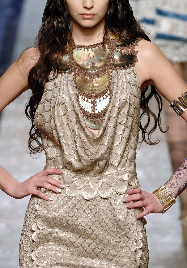 What the Fisher Queens of Essos would have worn, Jean Paul Gaultier The kingdom of the Fisher Queens was centred around a great inland sea located in what today is the Dothraki Sea. The Fisher Queens...