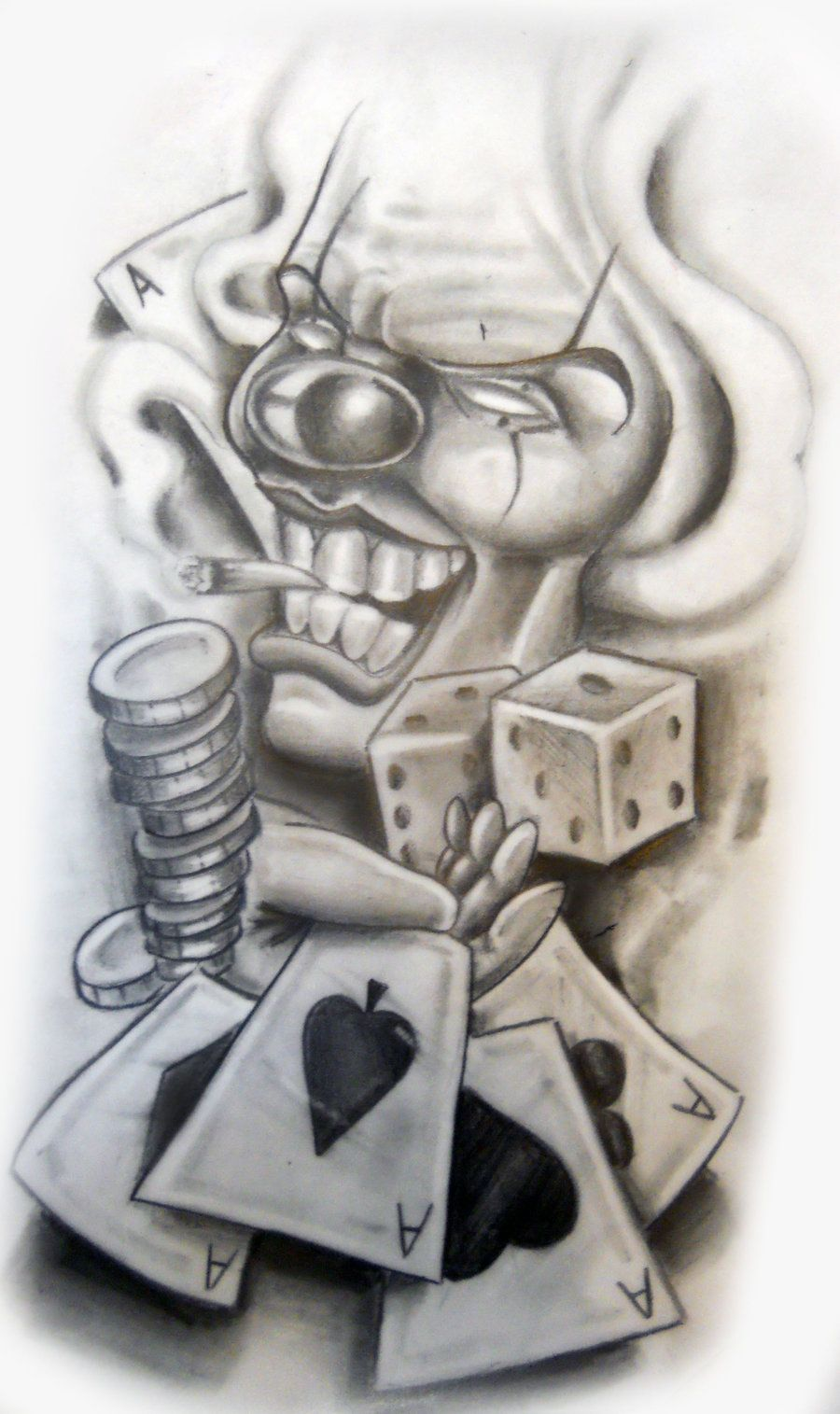 Line Drawing Tattoo Artists : Chicano tattoo flash hourglass google zoeken to