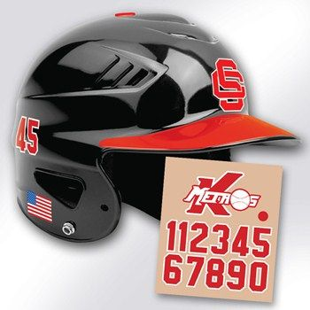Choose From A Variety Of Custom Baseball Decal Styles Our - Custom vinyl baseball decals