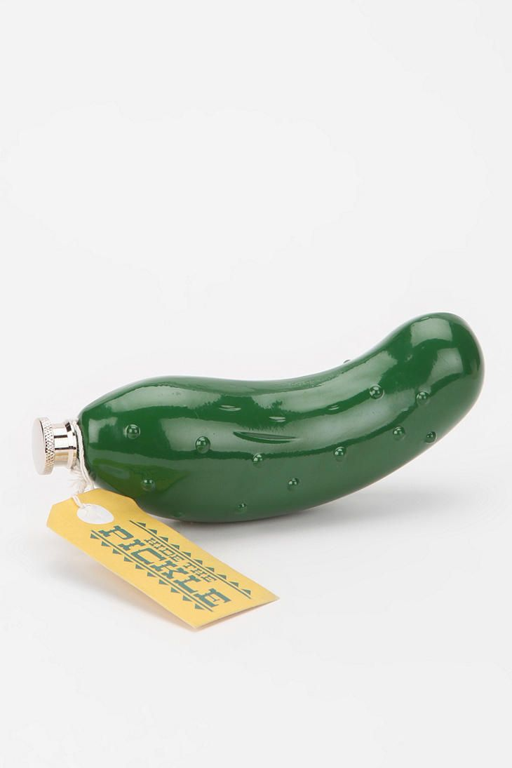 Pickle Flask | That's what's up  | Gifts, Pickles, Flask